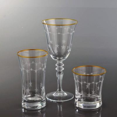 18 Pieces Glass Set - Yildiz