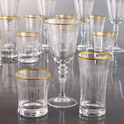 18 Pieces Glass Set - Puskul