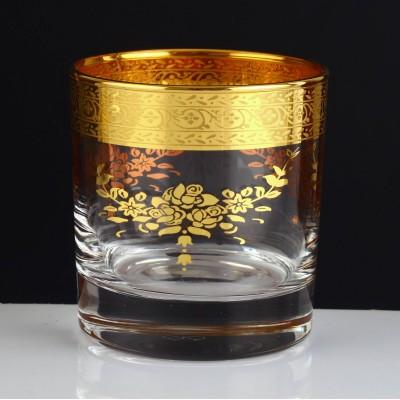 Water Glass Set of 6 - 42283 - Sibel Gold
