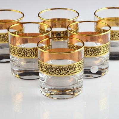 Water Glass Set of 6 - 42283 - Pak Gold