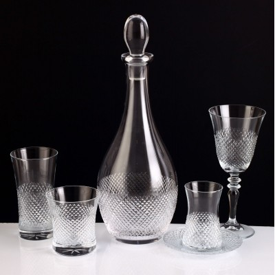 61 Pieces Glass Set - Vizyon - Set of 12