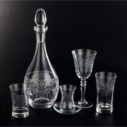 61 Pieces Glass Set - Bohem