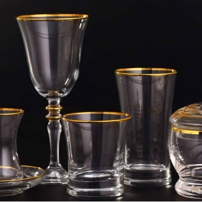 18 Pieces Glass Set - Duru Golda - 6 People