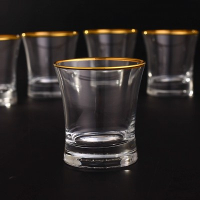 Water Glass Set of 6 - 420014 - Duru Gold