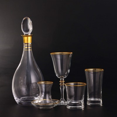 61 Pieces Glass Set - Duru Golda - 12 People