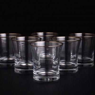 Water Glass Set of 6 - 420014 - Duru Platinium