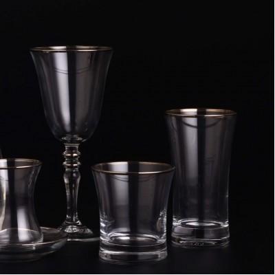18 Pieces Glass Set - Duru Platinium - 6 People