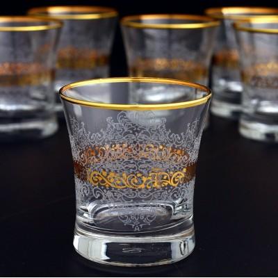 Water Glass Set of 6 - 420014- Estel Gold