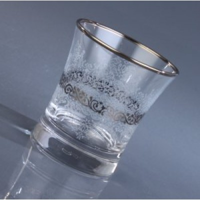 Water Glass Set of 6 - 420014- Estel Platinum
