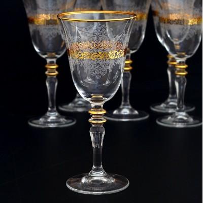 Stemware Set of 6 - 440141 - Estel Gold