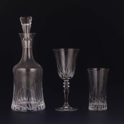 25 Pieces Glass Set - HD Yeşim - 12 people