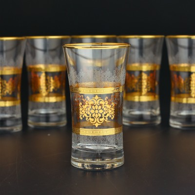 Juice Glass Set of 6 - 420055 - Masal Gold