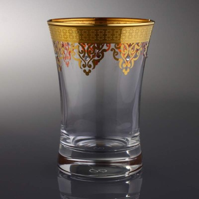 Water Glass Set of 6 - 420013 - Ottoman Gold