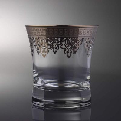 Water Glass Set of 6 - 420014 - Ottoman Platinum