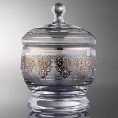 1551 Sugar Pot - Ottoman Platinum