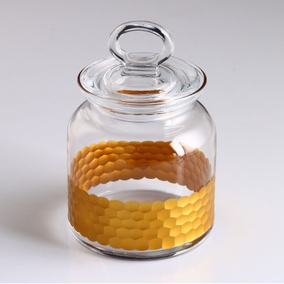 Spice Jar, 98671, Mid-Size - Petek Gold