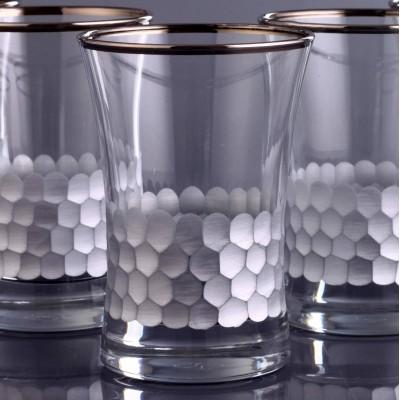 Water Glass Set of 6 - 420013 - Petek Platinum