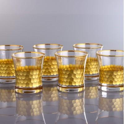 Water Glass Set of 6 - 420014 - Petek Gold
