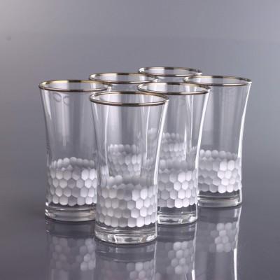 Juice Glass Set of 6 - 420055 - Petek Platinum