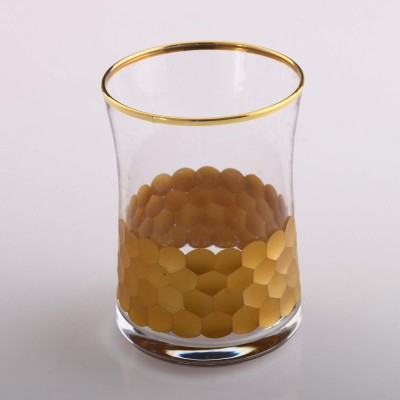 Water Glass Set of 6, 420322 - Petek Gold