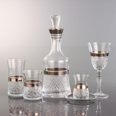 31 Pieces Glass Set - Piti Kare Platinum