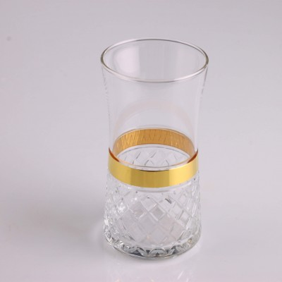 Juice Glass Set of 6 - 420845  - Piti Kare Gold
