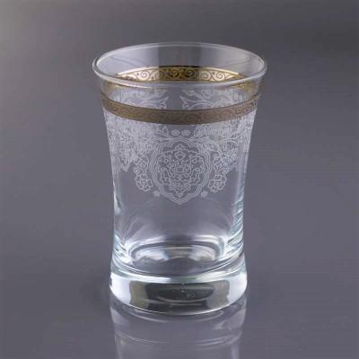 Water Glass Set of 6 - 420013 - Rumeysa Platinum