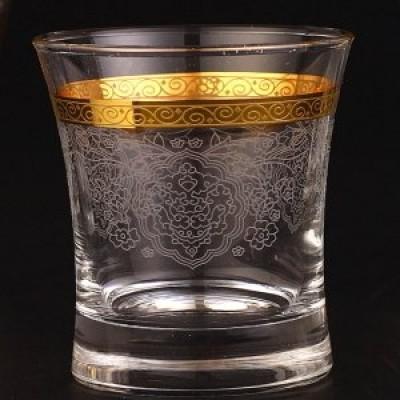 Water Glass Set of 6 - 420014- Rumeysa Gold