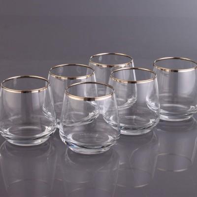 Water Glass Set of 6 - LAL361- Safir Platinium