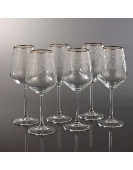 Stemware Set of 6 - 440080 - Helena Platinum