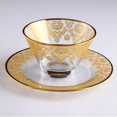 6+6 Pc Bowl Set - TRN Helena Gold - Yellow