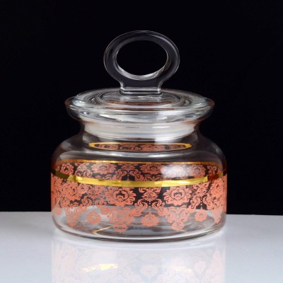 Spice Jar, 98863, Small Size - TRN Helena Gold - Red