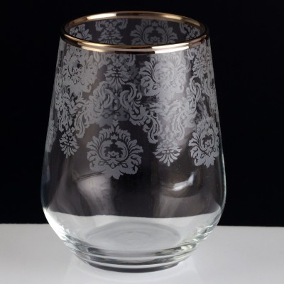 31 Pieces Glass Set - Helena Platinum - Set of 6
