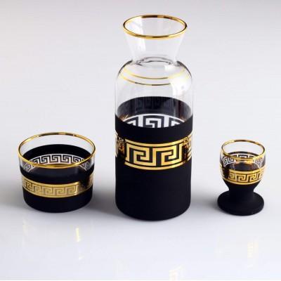Zamzam Set - Antique Gold - Black