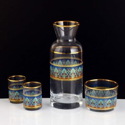 Zamzam Set - Sıla Gold - Blue