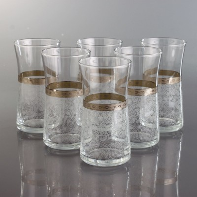 Juice Glass Set of 6 - 420845  - Ibak Platinum