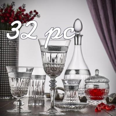 32 pc Glass Sets (0)