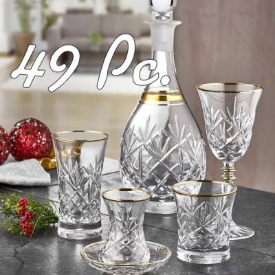 49 Pieces Glass Sets (1)
