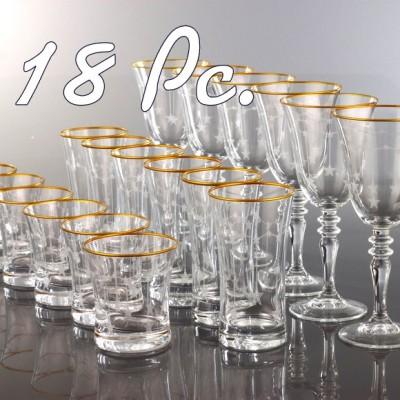 18 Pc Glass Sets (0)