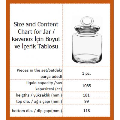 Spice Jar, 98671, Mid Size - Petek Platinum