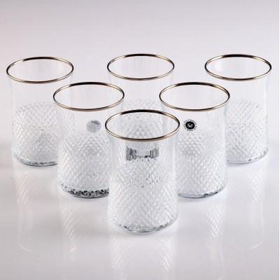 Water Glass Set of 6 - 420322 - Vizyon Platinum